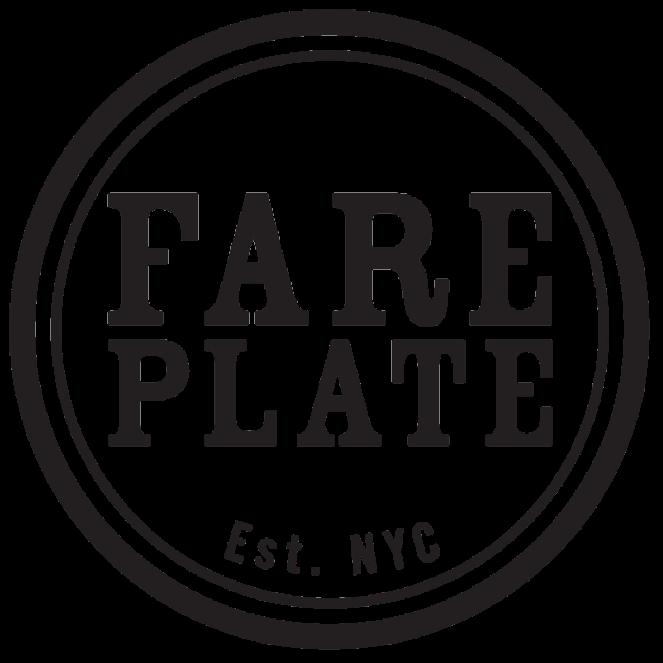 Fare plate logo
